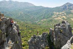 Andalusia Via Ferrata routes, Serrania de Ronda