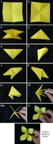 Learn to make easy buttonhole flowers. This flower is sure to please, find more origami instructions here… Learn to make easy buttonhole flowers. This flower is sure to please, find more origami instructions here… Origami Shapes, Origami And Kirigami, Origami Art, Origami Ideas, Origami Folding, Origami Examples, Origami Rose, Diy Paper, Paper Crafting