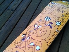 Adventure Time Skateboard
