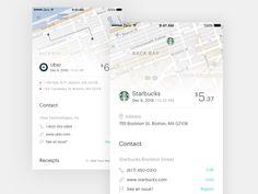 Transaction Details Concept