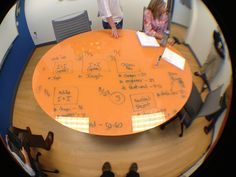 conference room table at Digital Evolution Group by ramseymohsen, via Flickr