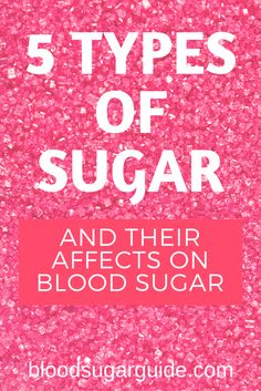 Would you recognize these different sugars on a food label? How do they affect your blood sugar anyway? Read more at bloodsugarguide.com
