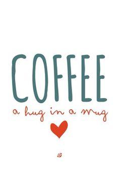 Café, un abrazo en una taza