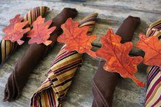 fall napkin rings - happy hooligans