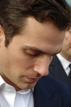 Henry Cavill...so perfect he doesn't look real