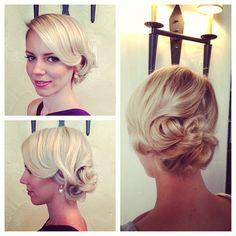 Bridal Up-Do from Heather Chapman #hair https://www.styleseat.com/jennstylistORL