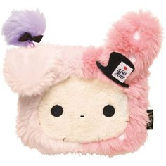 kawaii and cute products or gadgets  Adorable  and practical products Sentimental Circus rabbit plush pouch wallet