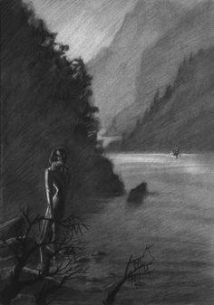 'La barca': lápiz. 300€ David Belmonte ©