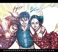 Shin-mouten-ouhon-manga-kingdom-coloring by ahmedxadel