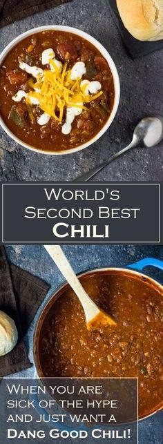 World's Second Best Chili recipe via @foxvalleyfoodie