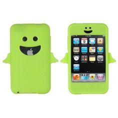 Lime Green Angel Case for Apple iPod Touch 2G, 3G
