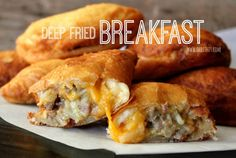 ~Deep Fried Breakfast! | Oh Bite It