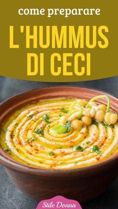 How to prepare chickpea hummus- - Side Dish Recipes, Veggie Recipes, Vegetarian Recipes, Cooking Recipes, Healthy Recipes, Turkish Recipes, Italian Recipes, Pesto, Tapenade