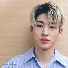 Find images and videos about gif, Ikon and b. Ikon Member, Yoseob, Nam Woo Hyun, Korea Boy, Best Kpop, Kim Hanbin, Blonde Guys, Music Charts, List Of Artists
