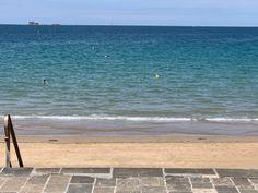 Plage du sillon devant l'hotel Kyriad Saint Malo Plage Hotel Saint Malo, Saints, Beach, Water, Outdoor, Inspiration, The Beach, Santos, Water Water