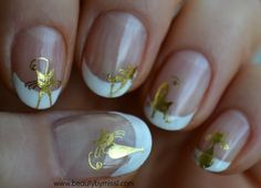 cat manicure via @beautybymissl