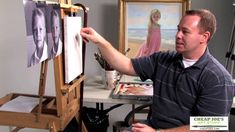 A Head Study (Pt1) with Professional Portrait Artist Brian Neher