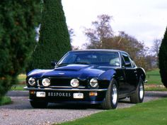 1981 Aston Martin V8 Vantage. Too bad there is no sound in Pinterest