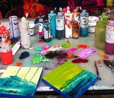 flora bowley...yummy golden paint colors