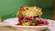 The Chew | Recipe  | PYT's Spaghetti Burger  I watched this show this morning!.