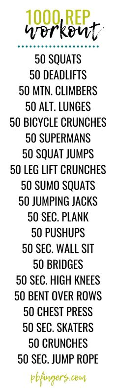 a sweaty, total body 1000 rep workout! a sweaty, total body 1000 rep workout! Fitness Tracker, Fitness Herausforderungen, Fitness Motivation, Health Fitness, Exercise Motivation, Planet Fitness, Fitness Quotes, Workout Fitness, Fit Board Workouts