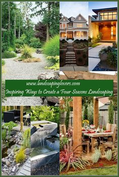 Landscaping plays an absolutely critical role in influencing the look and feel of your family's home. There is nothing more impressive than a home with fantastic landscaping. You can learn the best ways to landscape your home by carefully reading this article.  ** For more information, visit image link. Landscaping Around House, Four Seasons, Plays, Improve Yourself, Pergola, Image Link, Backyard, Outdoor Structures, Canning