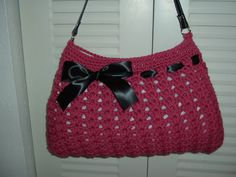 Crochet Hobo Bag (inspired by a Nordstrom bag)... easy to follow instructions =)