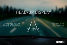 자동차 유리면에 길을 보여주는 신개념 네비게이션 앱