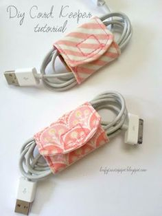 Free Sewing Patterns | DIY Charging Station Accessories More