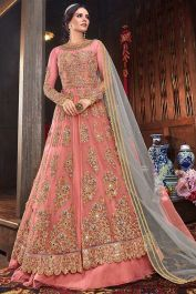 Net Designer Indo Western Suit With Two Bottom Dark Peach Color #Fabja #gowns #fashion #weddinggown #partyweargown #gown #gowndesigner #gownstyle #salwarsuitonline #designersuits #anarkalisuitsonline #longanarkali #longanarkali #anarkalisuit #salwarsuit #designersalwarsuit #anarkalisalwarsuit #anarkalidress #receptiondress #salwarkameez #suit #sale #love