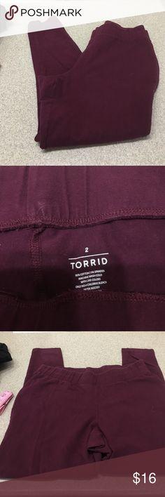 Torrid leggings inseam 26 inches Good condition torrid Pants Leggings