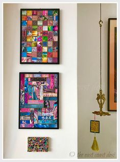 Art made from Recycled Magazine pages