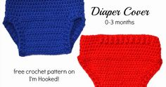 crochet, free crochet patterns, diaper cover, photo props,