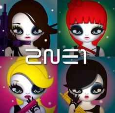 One of the best groups in Korea, period. 2NE1
