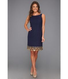 Lilly Pulitzer Dawson Dress True Navy Dot Dot Dot Lace - Zappos.com Free Shipping BOTH Ways
