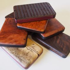 Sexy wood wallets from Perfect45Degree. Order now for the best holiday gift under the tree!