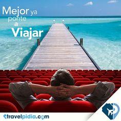 Deja de ser sólo un espectador y empieza a viajar con #TravelPIDIA