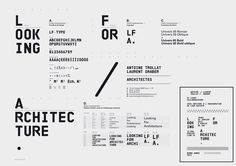 Looking for Architecture by Superscript²