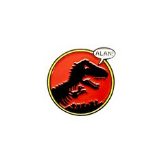 "An adventurous pin with a jurassic feel and bold colors that really wake  you up.  1"" x 1"" Soft Enamel / Black Metal pin with Foil Stamped Collector Card"
