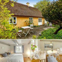 Wir träumen schon wieder vom #urlaub in diesem schönen Haus aus dem 19. Jahrhundert direkt am Fjord. ☀ #dänemark #seeland #urlaubzuzweit