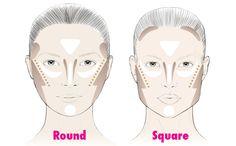 Wat is shapen? Shapen is, grof gezegd, het creëren van illusies. Shapen zorgt ervoor dat je neus kleiner en dunner lijkt, dat je geen dubbele kin hebt, dat je gezicht net wat ronder of ovaler lijkt dan het werkelijk is. Let wel: elk gezicht is anders, en voor hetzelfde effect, moet je dus anders shapen. Scroll naar beneden voor de 'cheatsheets' voor jouw gezichtstype.