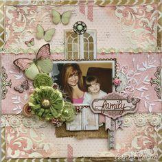 Family **Bo Bunny ~ Primrose & The Avenues** - Scrapbook.com