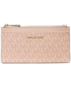 1acaa5b0d67b5e Michael Kors Boxed Signature Slim Card Case & Reviews - Handbags &  Accessories - Macy's