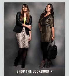Eloquii - Get the Look: Stylish, fashion-forward outfits for plus size women.