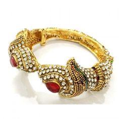 Craftstages Gold Plated Copper Jarkan Traditional Bracelet