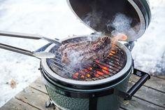 Flavour is needed all year long! #Winter #Winterfood #Foodies #Steak #Biggreenegg #Bigggreeneggeu #Biggreeneggeurope