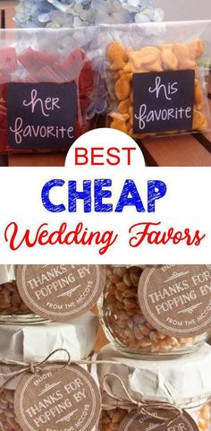 Wedding favor ideas + inspiration to help you ditch the favors guests will toss and give them something unique that they'll want to keep! Cute favor ideas, sustainable wedding favors, food favors, DIY wedding favors and other favors that guests will love! Bachelorette Party Favors, Beach Wedding Favors, Wedding Favors For Guests, Unique Wedding Favors, Trendy Wedding, Handmade Wedding, Summer Wedding, Wedding Table, Unique Weddings