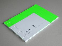 - handmade japanese binding, cocoon 140g paper, 240g fluorescent green paper on the covers
