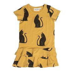 Mini Rodini Cats Dress - Mini Rodini Online - Kinderkleding Webshop Goldfish.be