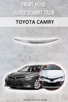 Car accessories for Toyota Camry 2018 2019 L LE XLE: Front Hood Guard Bonnet Trim. Must have car customization and decoration accessories. Put it on your car essentials list. Your Camry will look better than ever. Car Rust Repair, Must Have Car Accessories, Models Men, Most Popular Cars, Ab Day, Mini Car, Car Essentials, Car In The World, Toyota Camry